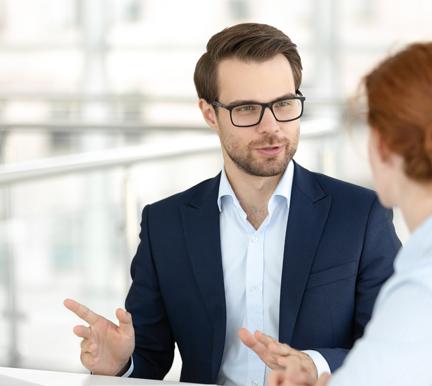 Entrevista de trabajo aplicando las nuevas técnicas de reclutamiento IT